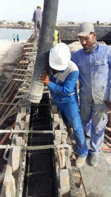 العمل مستمر في مشروع جسر النجيبية ، حيث وصلت نسبة الانجاز٦٨٪ .  تتفيذ شركة ماء السماء الدولية .