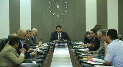 الامين العام لمجلس الوزراء يوجه بإزالة المعوقات وتجاوز البيروقراطية لتسهيل انجاز المشاريع الاستثمارية