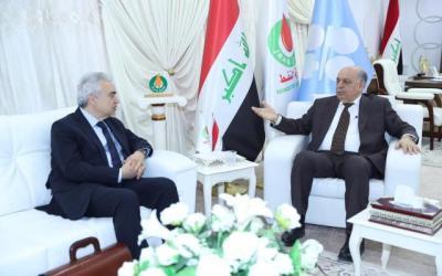 وزير النفط :خططنا الاستثمار الامثل للغاز لتامين الوقود للكهرباء رئيس وكالة الطاقة الدولية : العراق حقق تقدما كبيرا في مجال النفط
