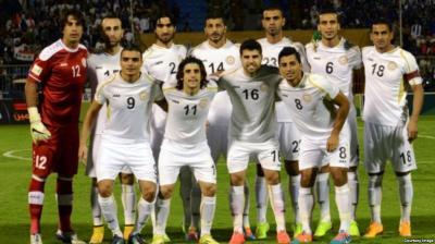 منتخبنا الوطني يستأنف تدريباته استعداداً للقاء قطر