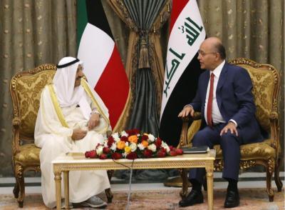 أمير الكويت: زيارتنا للعراق فرصة لحسم الملفات العالقة بين البلدين