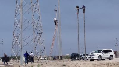 توزيع الكهرباء تعيد التيار إلى مستشفى الصدر التعليمي في البصرة
