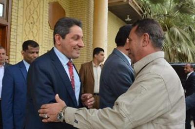النائب الاول ومحافظ البصرة يبحثان مع رئيس لجنة الامن والدفاع النيابية ملفات الامن والصراعات العشائرية والمخدرات والعصابات الاجرامية وامن الموانئ العراقية .