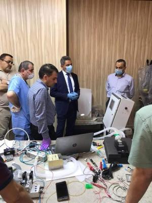 الحكومة المحلية تقرر التعاقد مع جامعة البصرة لتصنيع اجهزة التنفس الاصطناعي الحديثة لتوزيعها على مستشفيات المحافظة