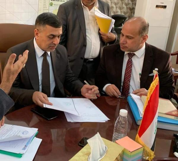 يتضمن ١٣ خدمة... محافظ البصرة: مجاري الزبير سيكون الأول من نوعه في العراق. التخطيط والمتابعة: مناطق أخرى ستضاف بكشوفات جديدة.
