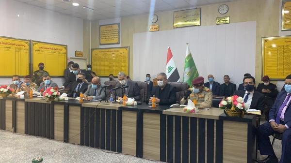 محافظ البصرة يؤكد إن زيارة وزير الداخلية والوفد المرافق له مهمة لتوضيح الحقائق ودعم المؤسسة الأمنية