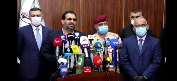 """خلال مؤتمرٍ صحافيٍّ مشترك... """"النائب فالح الخزعليّ"""" يعلن عن مقررات اجتماع محافظ البصرة مع السادة النواب والقادة الأمنيّين:"""