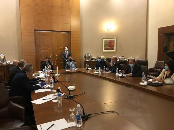 في اجتماع موسع ببغداد  العيداني : اتفقنا مع وزير الموارد المائية للإسراع في إكمال تحويل قناة البدعة المائية إلى قناة انبوبية مغلقة