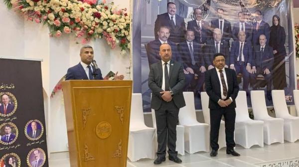 الحكومة المحلية تبارك العرس الانتخابي لملتقى المحامين في البصرة.