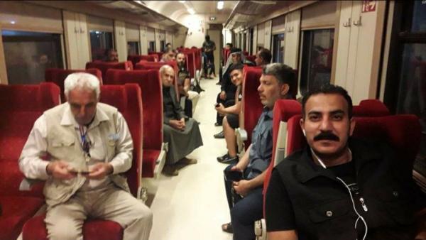 وزارة النقل تواصل رحلاتها اليومية على متن قطاراتها الحديثة  .