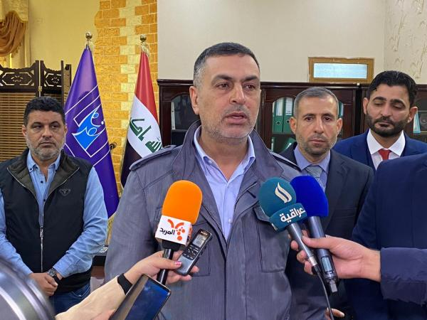 العيداني : يؤكد دعم مفوضية الانتخابات ويدعو البصريين للاسراع في تحديث بياناتهم البايومترية