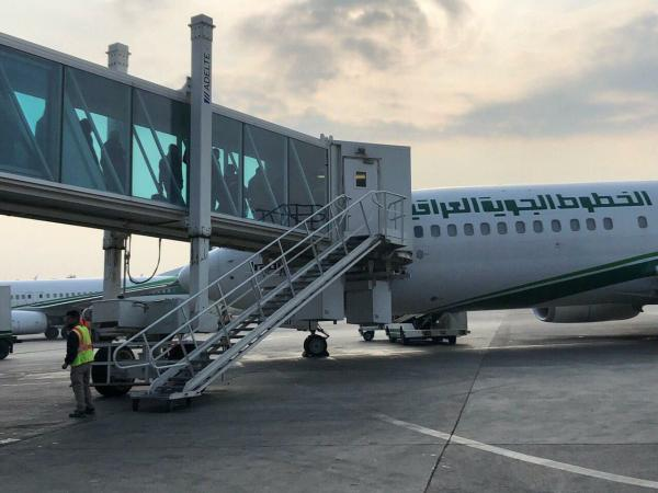 الخطوط الجوية العراقية تسجل زيادة في معدلات الرحلات والمسافرين في مطار البصرة .