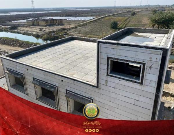 التربية : افتتاح ثلاث مدارس جديدة في البصرة ضمن مشروع تنمية الأقاليم