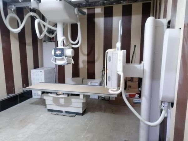 """صحة البصرة تنجز نصب جهاز أشعة"""" DR"""" في  مستشفى القرنة العام"""