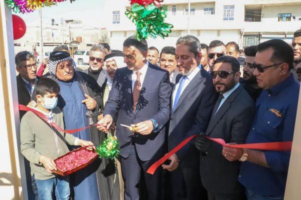 الحكومة المحلية بالبصرة تفتتح مدرسة متوسطة في حي الغدير