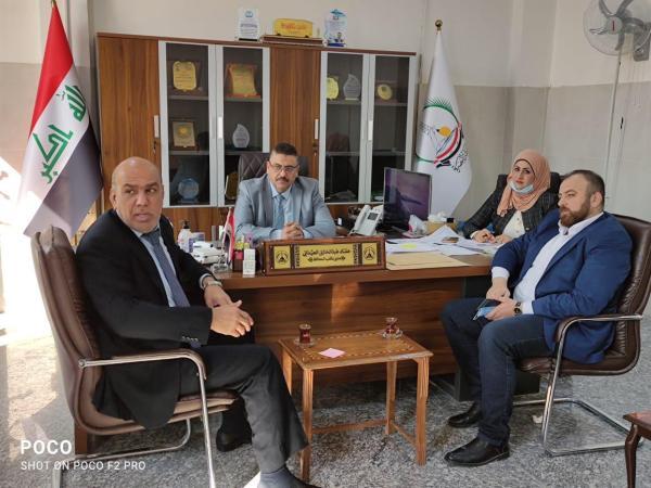 اكتمال الجولة الأخيرة لتجديد شهادة ISO لديوان محافظة البصرة