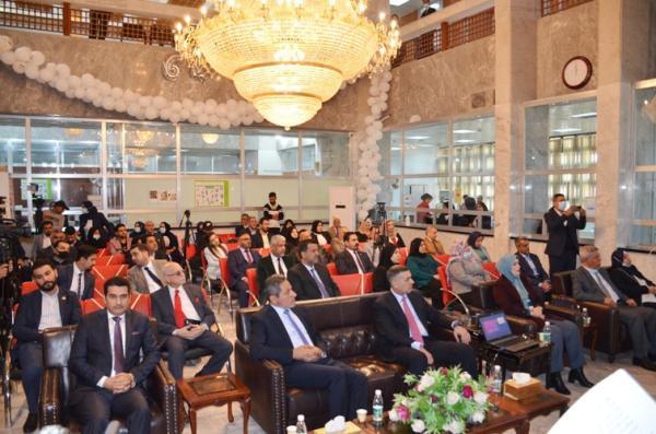 النائب الاول لمحافظ البصرة يشارك في احتفالية فرع البنك المركزي العراقي بمناسبة 64 عاما على تأسيسه