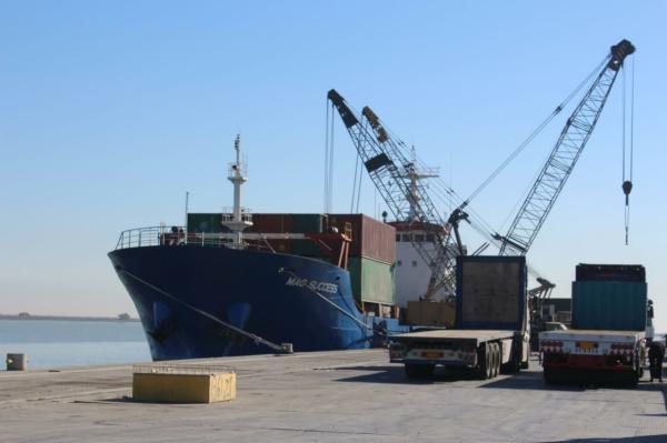 النقل : ميناء ابو فلوس يحقق أعلى إيرادات خلال شهر كانون الثاني 2021