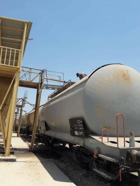 النقل : (600) حوض من مادة زيت الغاز نُقلت من البصرة إلى مستودعات نفط الحلة