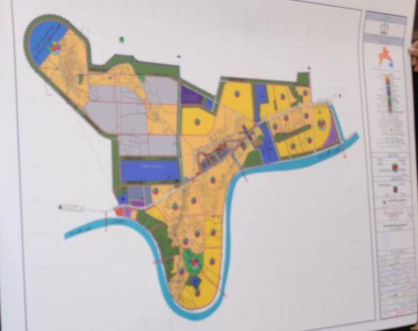 الحكومة المحلية في البصرة تصادق على مشروع التصميم الاساس لناحية الشهيد عز الدين سليم