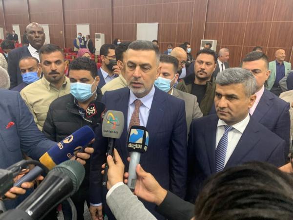 محافظ البصرة يبارك للصحفيين عرسهم الإنتخابي