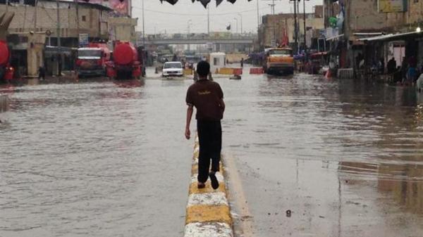 بسبب الامطار.. ديالى وبابل تعطلان الدوام الرسمي يوم غد