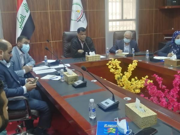 """ديوان محافظة البصرة يحتضن الاجتماع الأول لمشروع """"تكامل"""""""