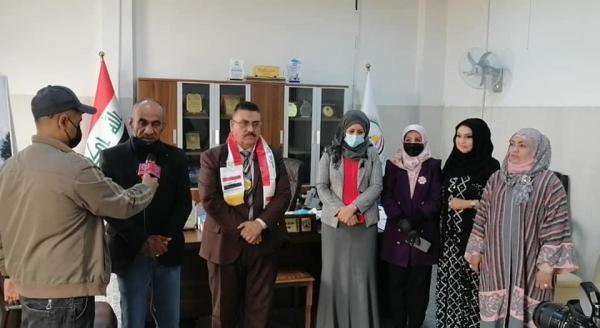 مدير مكتب المحافظ يلتقي بعدد من ممثلي منظمات المجتمع المدني