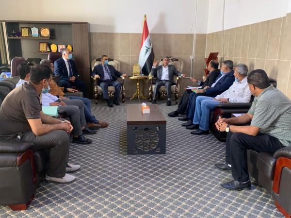 معاون المحافظ : الفرق الرياضية الشعبية في البصرة ستحظى بدعم كبير من قبل الحكومة المحلية