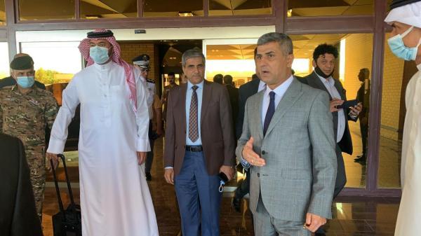 معاون المحافظ يستقبل ممثلي الاتحادات الخليجية