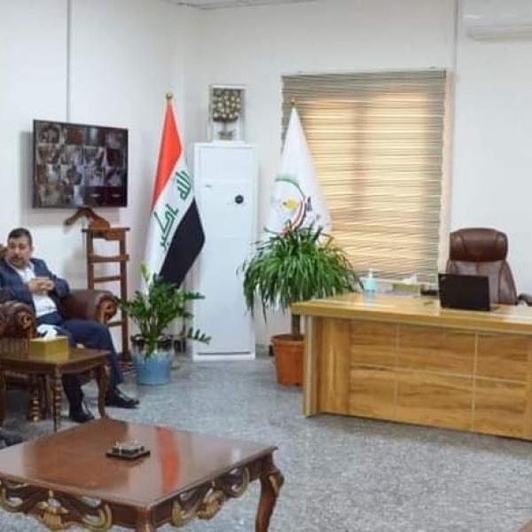 الأجودي يؤكد دعمه لجامعة البصرة للنفط والغاز