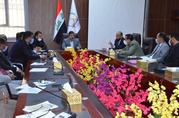 هيئة اللامركزية الإدارية تعقد اجتماعاً برئاسة الأجودي