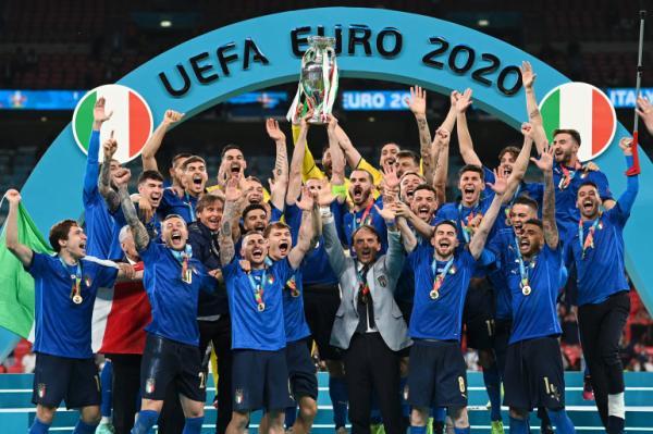 إيطاليا تنتزع لقب كأس أمم أوروبا من إنجلترا على ملعب ويمبلي
