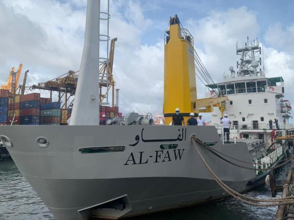 النقل تستعد لاستلام سفينتين متخصصتين ضمن مشاريع القرض الياباني ..