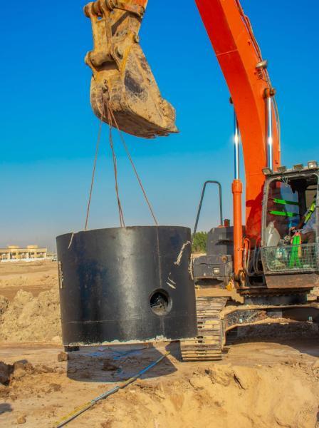 النرجس تؤكد تقدم العمل في مشروع اراضي الصبخ