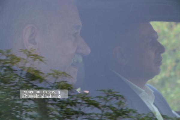 بالصور  محافظ البصرة يلتقي رئيس جهاز الأمن الوطني عبد الغني الاسدي في دار الاستراحة