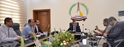 النائب الاول لمحافظ البصرة يبحث استعدادت انطلاق العام الدراسي الجديد ومشروع المدارس الحكومية الدولية