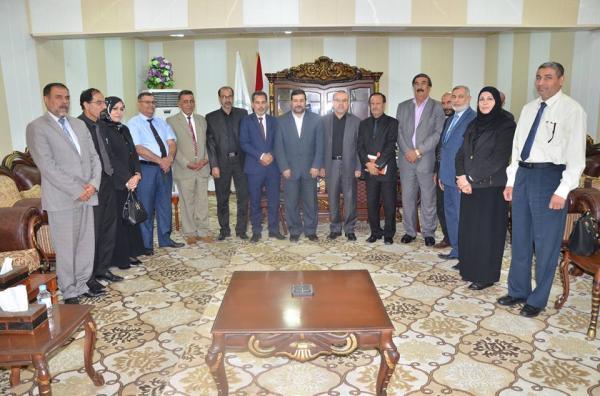 الاجودي :: يلتقي رابطة المشرفين التربويين في محافظة البصرة