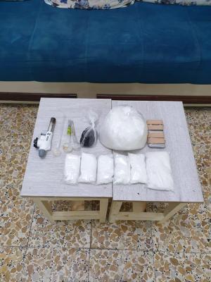 حملة مديرية شرطة محافظة البصرة للقضاء على ظاهرة ترويج وتعاطي المخدرات