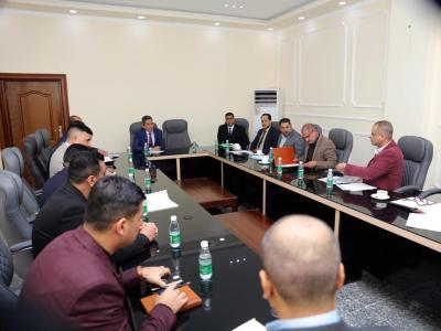 نائب محافظ البصرة يبحث خطة تطوير المنافذ الحدودية مع مدراء المنافذ ومسؤولي الوحدات الادارية لعام 2019