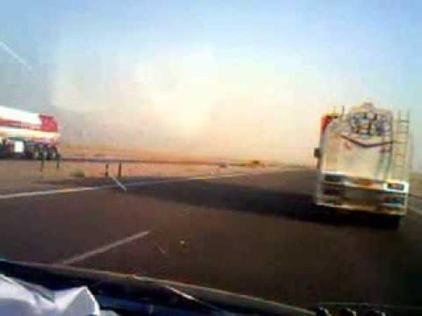 قرب تأهيل طريق بغداد العام في محافظة البصرة