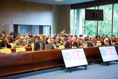 وفد العراق يشارك في اجتماعات المجموعة العربية بجنيف