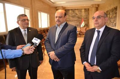 بطرسيان يستقبل السفير الارميني في العراق ويؤكد عن قرب أفتتاح قنصلية فخرية في البصرة