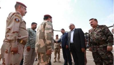عبد المهدي يصل الانبار للاطلاع على العمليات العسكرية
