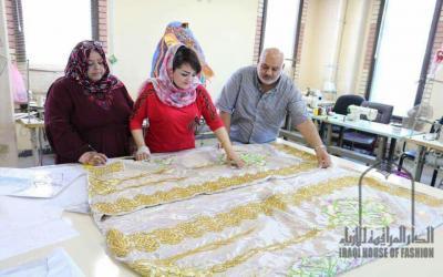 الدار العراقية للأزياء تستعد للاحتفاء باليوبيل الذهبي لتأسيسها