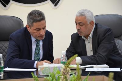 حكومة البصرة المحلية تبحث مع لجنة المتابعة لمجلس الوزراء سرعة انجاز مشاريع قطاع التربية المتوقفة