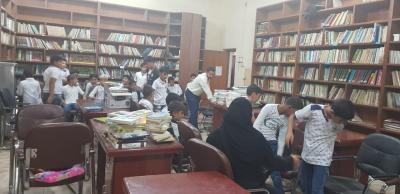 انجازات ونشاطات قسم المكتبة المركزية العامة  في الزبير لشهر كانون الثاني - شباط - اذار 2019