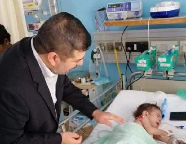 الأجودي يعلن عن أجراء أول عملية قلبية في مستشفى الصدر التعليمي ....