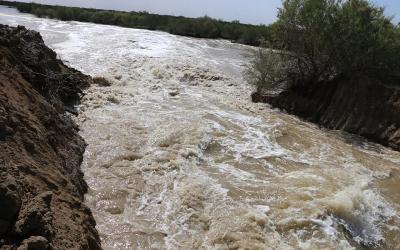 خلية الاعلام الحكومي: الموارد المائية تطلق الموجة الأولى من المياه للمباشرة بزراعة محصول الشلب