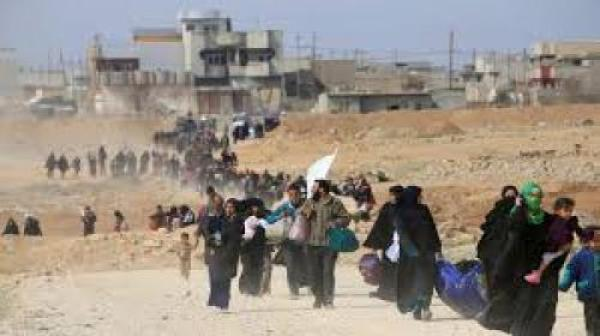 عمليات نينوى تعلن دخول 329 عائلة سورية الى العراق عبر المحافظة